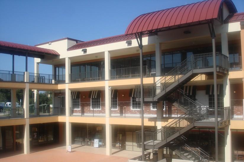 Commercial Design Hillside Terrace Exterior