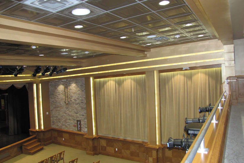 theater sidewall design
