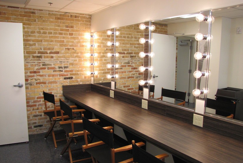 theater dressing room design