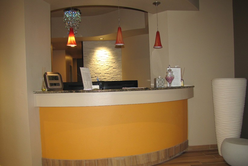 Dental Reception Area Design