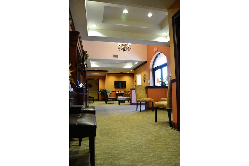 Dr Nassir Office waiting room