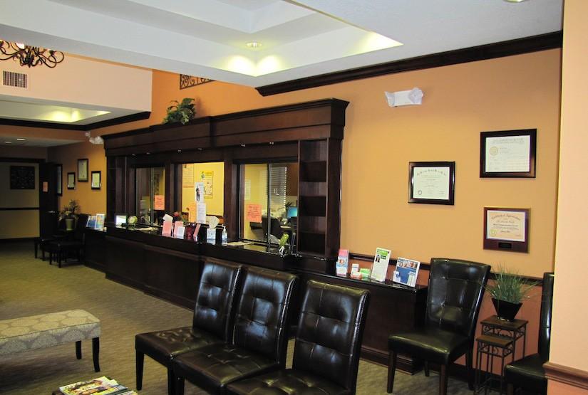 Dr Nassir Office Reception