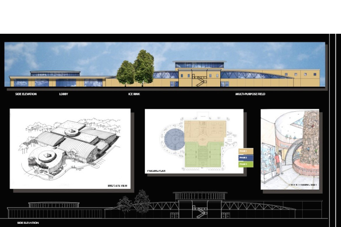 Dreamplex Sports Facility (Elevations)