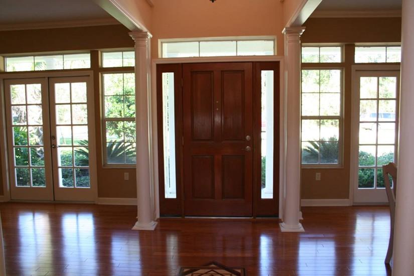 wright home living room design