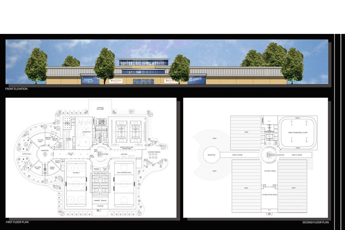 Dreamplex Sports Facility (Floor Plans)