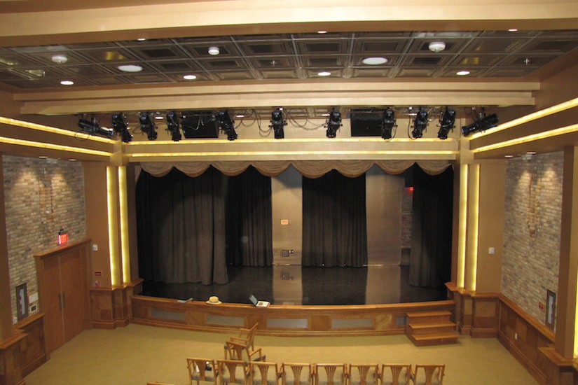 theater design balcony view