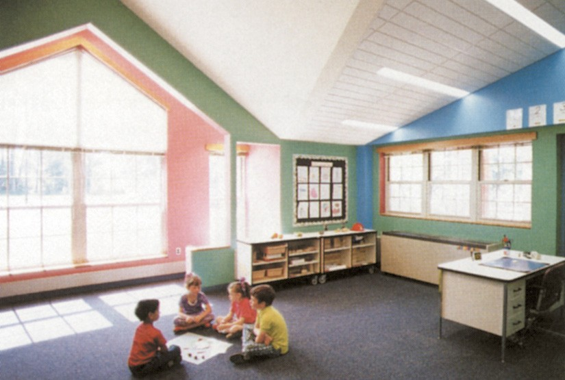 Interior Chataqua Elementary School