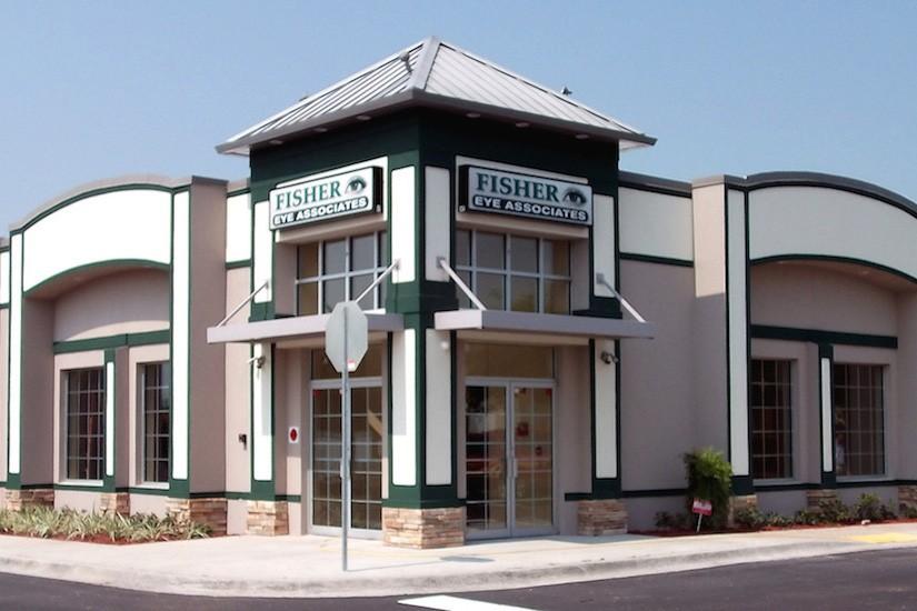 Exterior Fisher Eye Office Design
