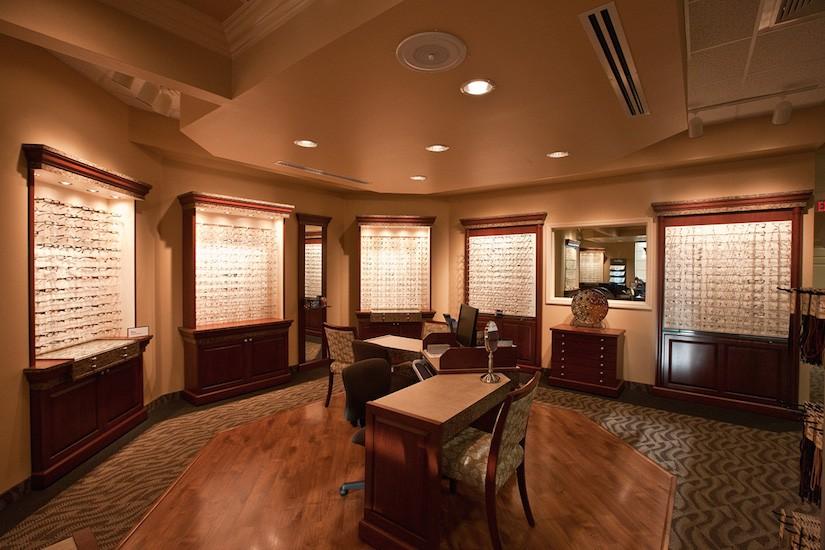 Fisher Eye Office Display