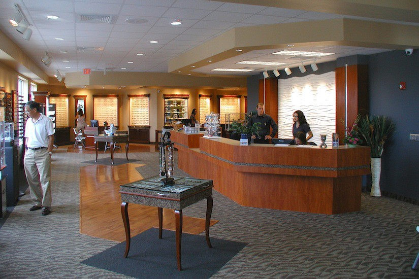 Reception Fisher Office Design