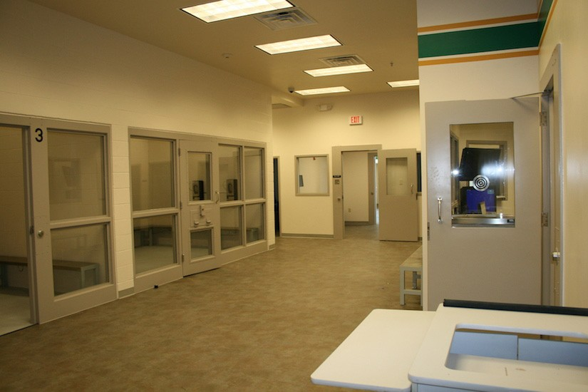 Lake County Sheriff Office Design interior
