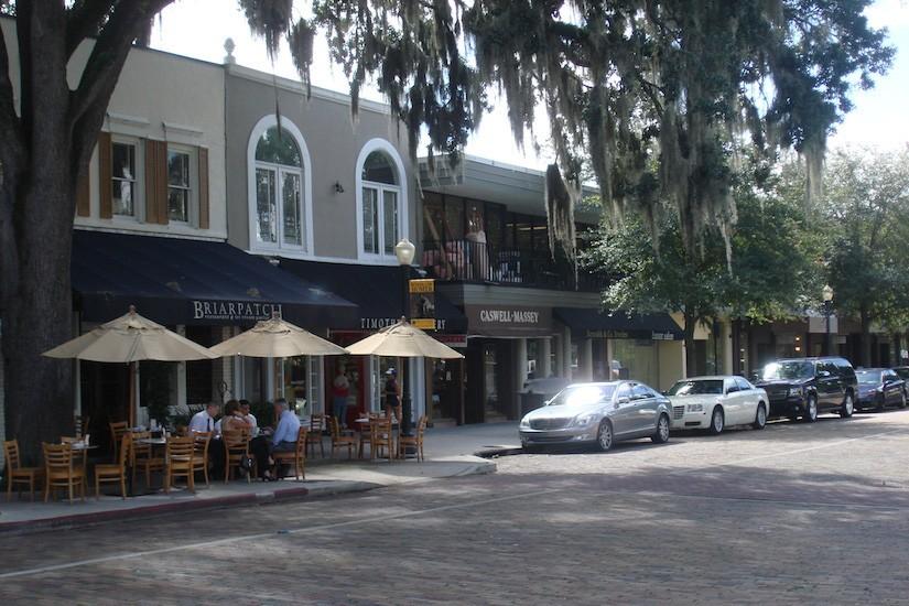 Exterior Winter Park Retail Design