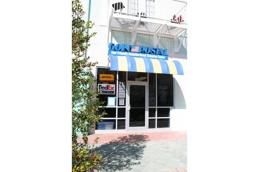Goin Postal Exterior Retail Design