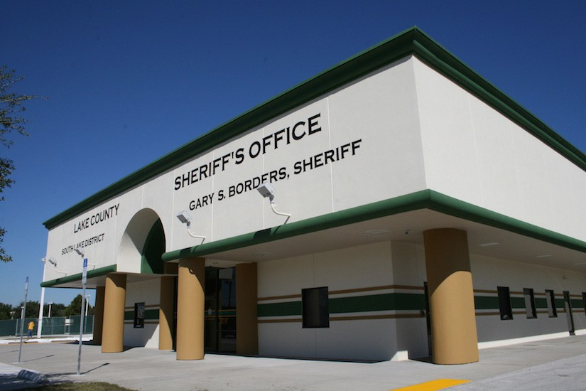 Lake County Sheriff Office Design exterior